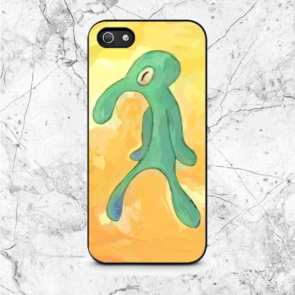 Squidward Old Bold And Brash iPhone 5|5S|SE Case