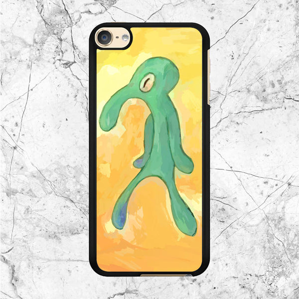 Squidward Old Bold And Brash iPod 6 Case