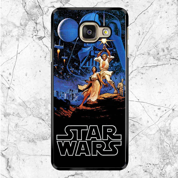 Star Wars A New Hope Episode Iv Original Poster Samsung Galaxy A9 Pro Case