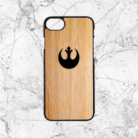 Star Wars Rebel Alliance Symbol Wood