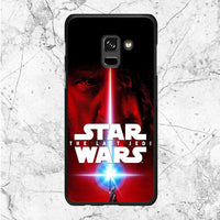 Star Wars The Last Jedi Poster Samsung Galaxy A8 Plus 2018 Case
