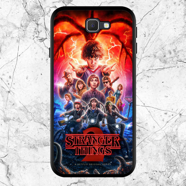 Stranger Things 2 Poster Samsung Galaxy J5 Prime Case