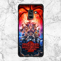 Stranger Things 2 Poster Samsung Galaxy A8 2018 Case