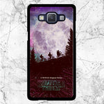 Stranger Things Moon Poster Samsung Galaxy J3 2017 Case | Sixtyninecase