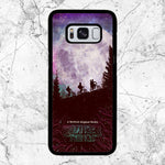 Stranger Things Moon Poster Samsung Galaxy S8 Plus Case | Sixtyninecase