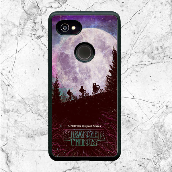 Stranger Things Moon Poster Google Pixel 2 XL Case | Sixtyninecase