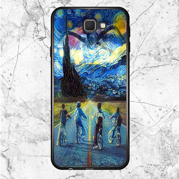 Stranger Things Starry Night Samsung Galaxy J7 2016 Case | Sixtyninecase