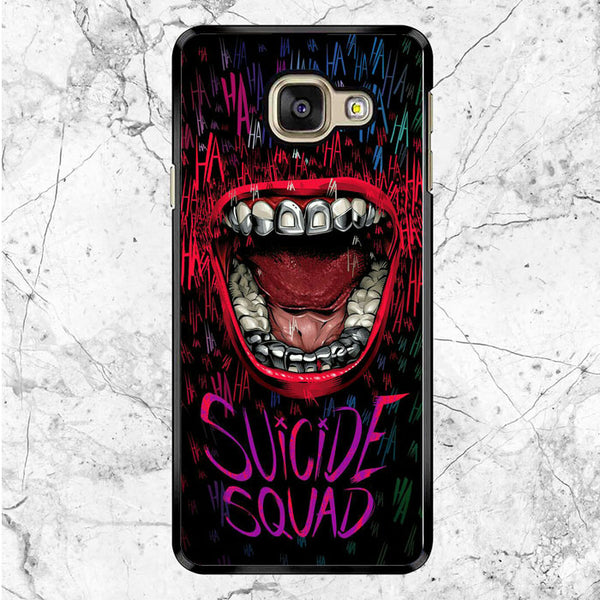 Suicide Squad Joker Mouth Samsung Galaxy A9 Pro Case