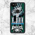 Super Bowl LII Eagles Google Pixel 2 Case | Sixtyninecase