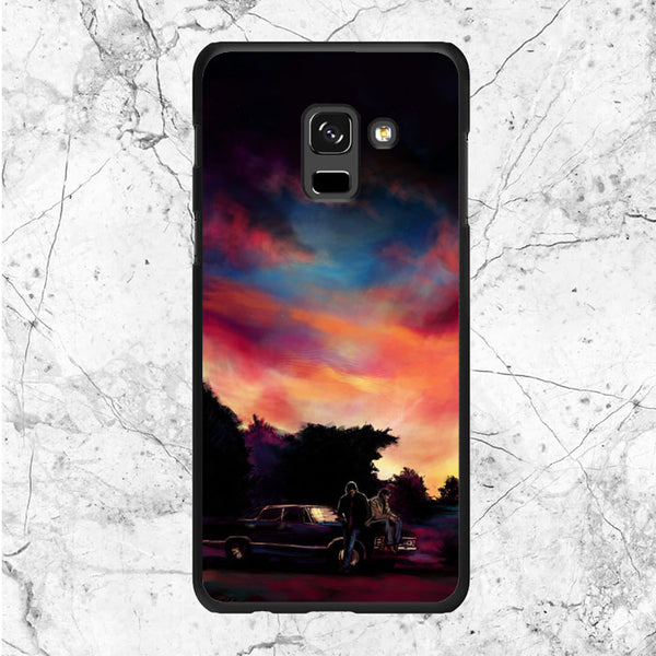 Supernatural Movie Art Samsung Galaxy A6 2018 Case | Sixtyninecase
