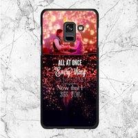 Tangled Quotes Samsung Galaxy A8 2018 Case