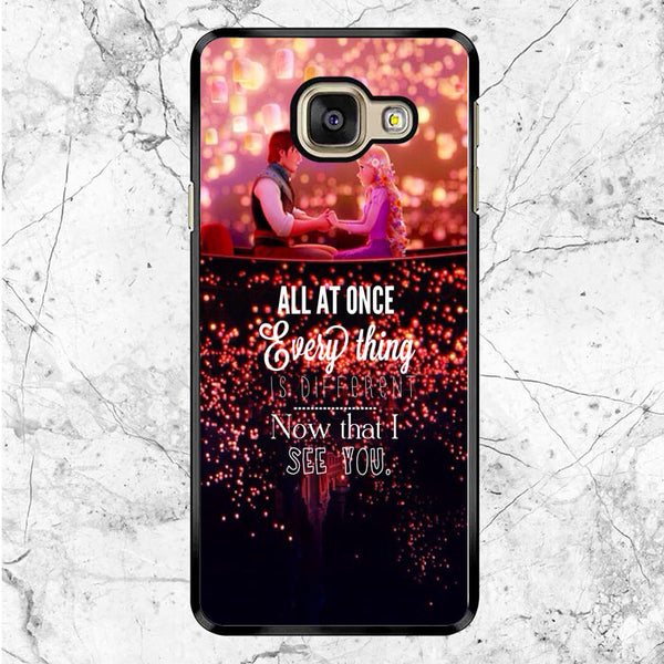 Tangled Quotes Samsung Galaxy A9 Pro Case