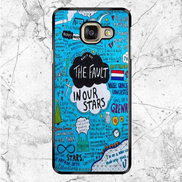 The Fault In Our Stars Custom Cover Book Samsung Galaxy A9 Case