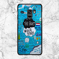 The Fault In Our Stars Custom Cover Book Samsung Galaxy A8 2018 Case