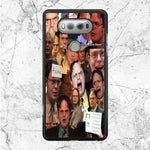 The Office Tv Show Collage Dwight Schrute Face LG V20 Case | Sixtyninecase