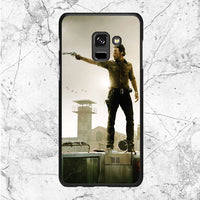 The Walking Dead Movie Poster Samsung Galaxy A8 2018 Case