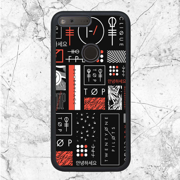 Twenty One Pilots Art Google Pixel Case