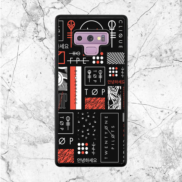 Twenty One Pilots Art Samsung Galaxy Note 9 Case