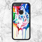 Watercolor Wolf Art Google Pixel XL Case | Sixtyninecase