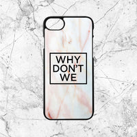 Why Dont We Logo Marble