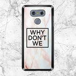 Why Dont We Logo Marble LG G6 Case