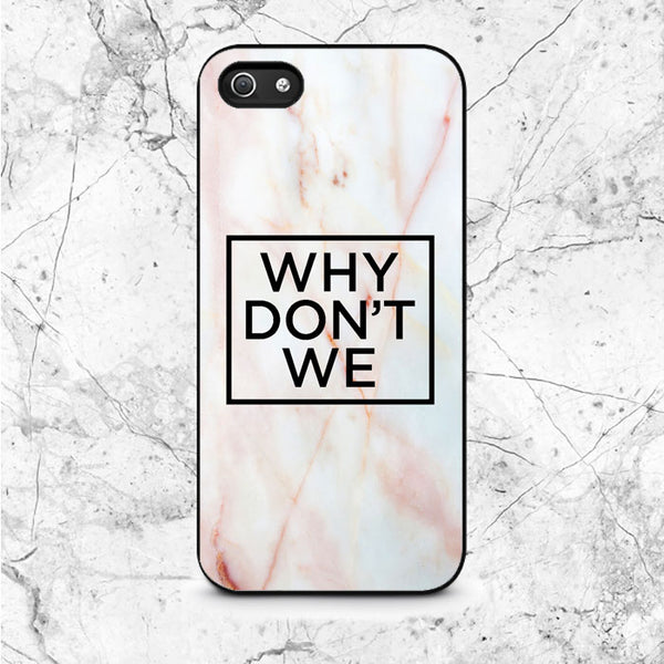 Why Dont We Logo Marble iPhone 5|5S|SE Case