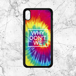 Why Dont We Tie Dye iPhone XR Case