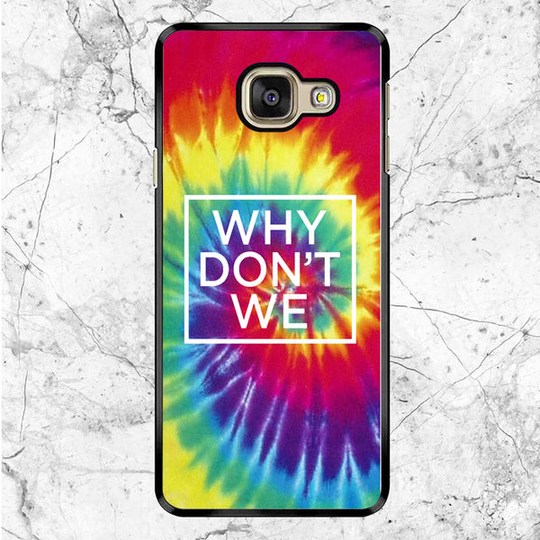Why Dont We Tie Dye Samsung Galaxy A9 Case