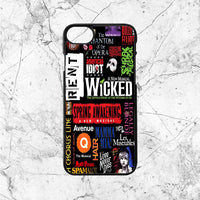 Wicked Broadway Music Collages