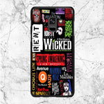 Wicked Broadway Music Collages Samsung Galaxy A6 2018 Case