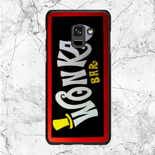 Willy Wonka Chocolate Samsung Galaxy A8 2018 Case