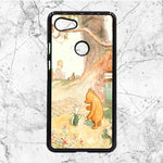 Winnie The Pooh Art Google Pixel 3 XL Case | Sixtyninecase