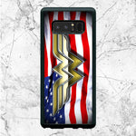 Wonder Woman American Flag Samsung Galaxy Note 8 Case | Sixtyninecase