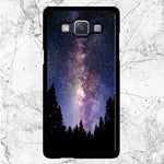 Wonderfull Starry Night Forest Samsung Galaxy J3 2016 Case