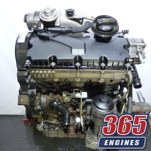 Buy Used 2006 Volkswagen Golf MK5 1.9 TDI Engine Diesel BKC Code Fits 2004 - 2008 - 365 Engines