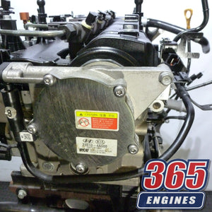 Buy Used 2018 Hyundai I800 Diesel Engine 2.5 CRDI D4CB Code Fits 2015 - 2019 - 365 Engines