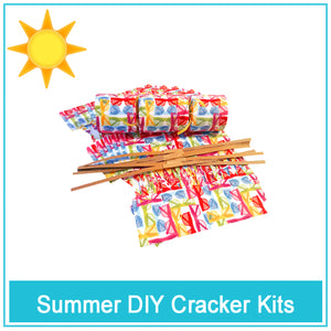 DIY Cracker Kits for summer parties and fun milestone events at work, home and cottage fun.