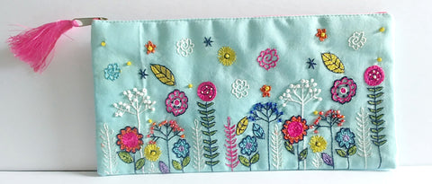 Hand Sewn Cosmetic Case