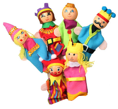 "Finger Puppets ""Royal House"""