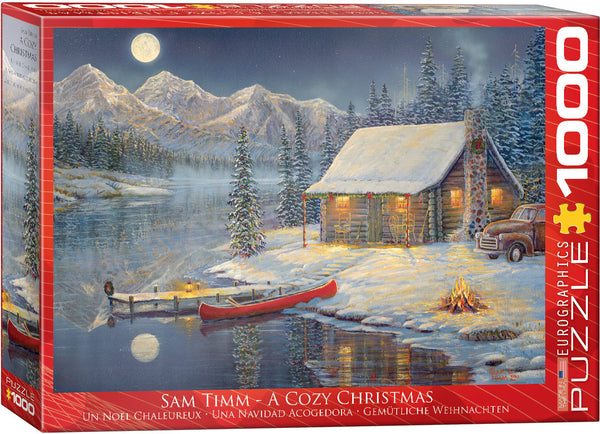 "Winter Jigsaw Puzzle | ""A Cozy Christmas"""