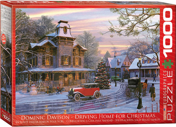 "Jigsaw Puzzle | ""Driving Home"""