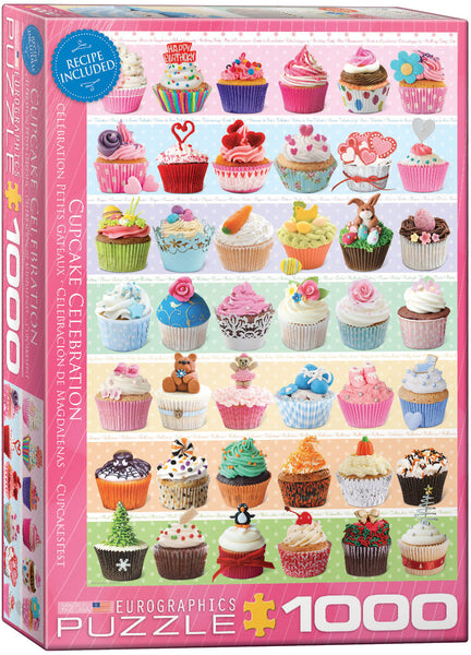 "Jigsaw Puzzle | ""Cupcake Celebration"""