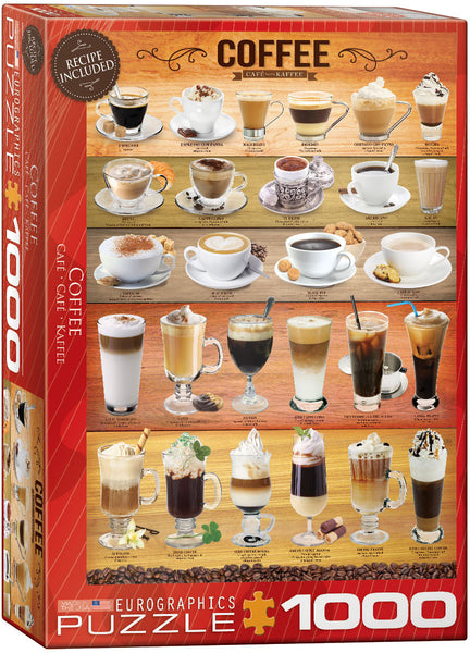 "Jigsaw Puzzle | ""Coffee Time"""