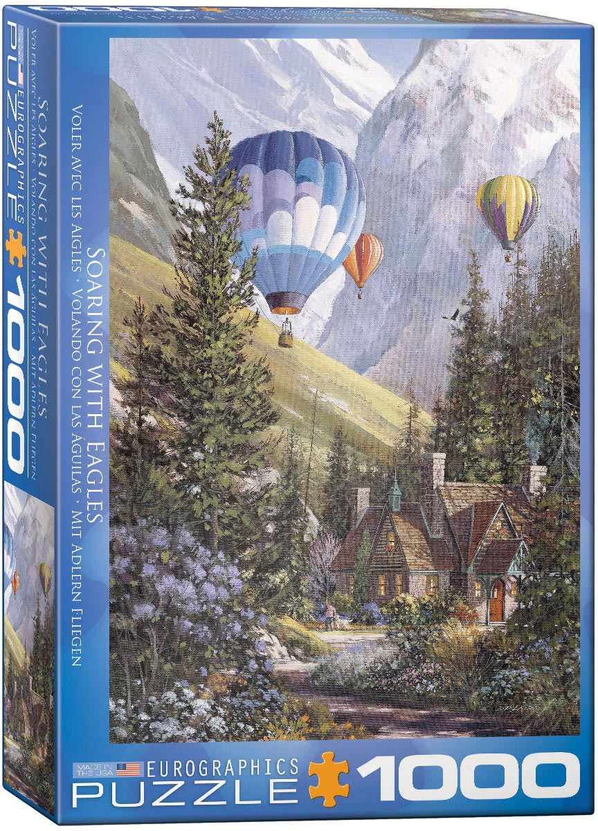 "Jigsaw Puzzle | ""Soaring with Eagles"""