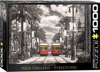 "Jigsaw Puzzle | ""New Orleans Street Cars"""