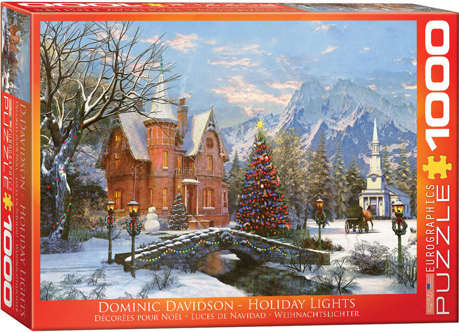 "Jigsaw Puzzle | ""Holiday Lights"""