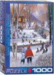 "Winter Jigsaw Puzzle | ""Hockey Season"""