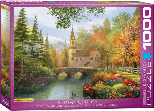 """Autumn Church"" - Jigsaw Puzzle"