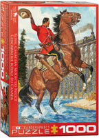 "Jigsaw Puzzle | ""RCMP - Train Salute"""