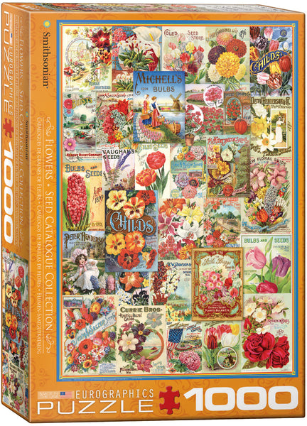 "Jigsaw Puzzle | ""Flower Seed Catalogue"""